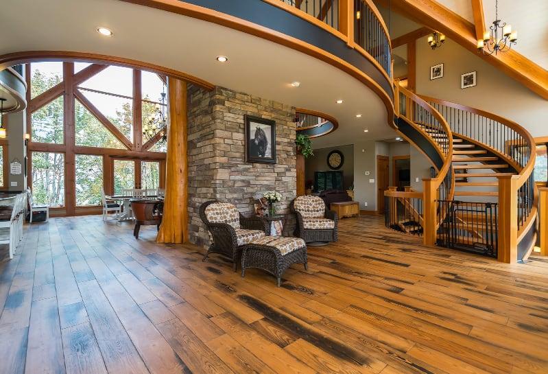 Interior of a custom built home