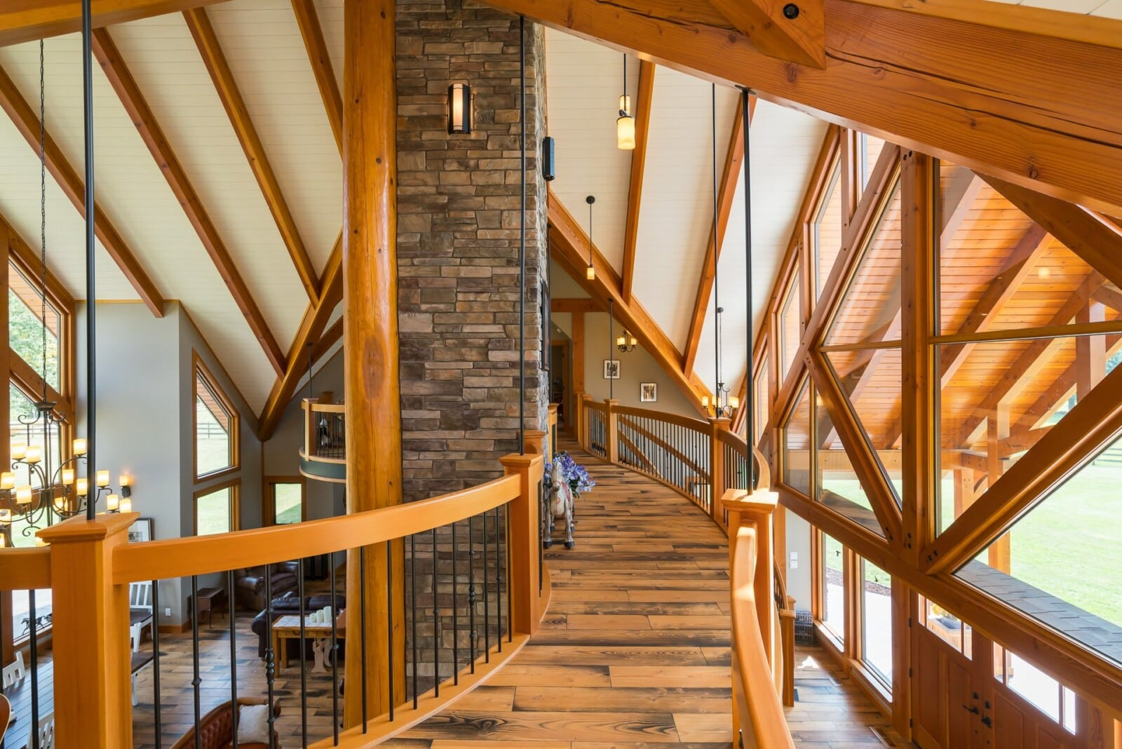Columbia Valley custom home