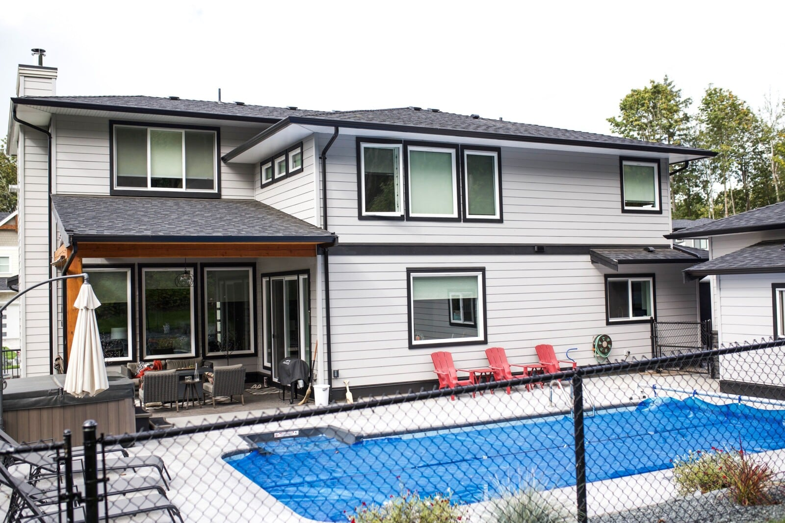 Rosedale custom home