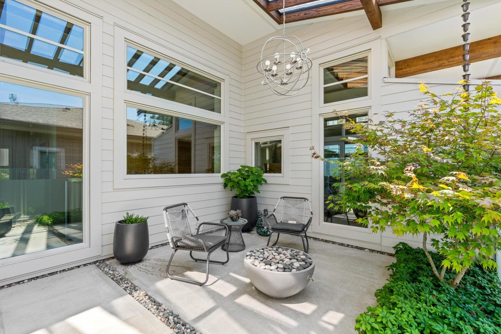 custom covered patio
