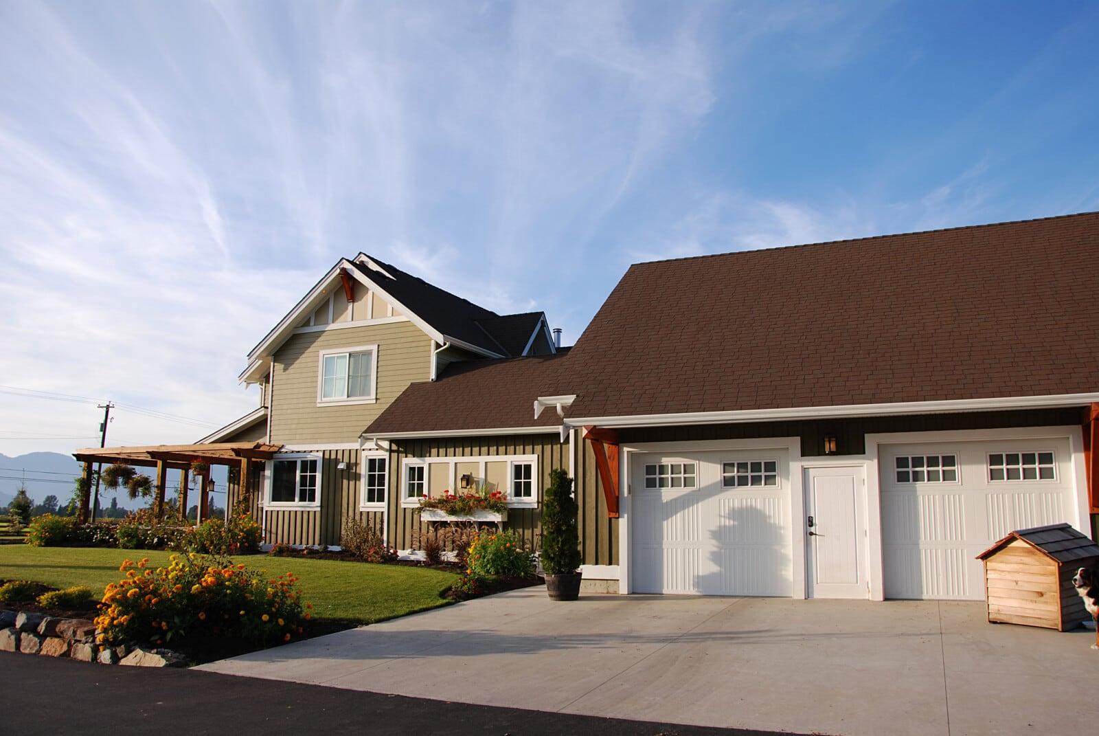 Custom home in Rosedale