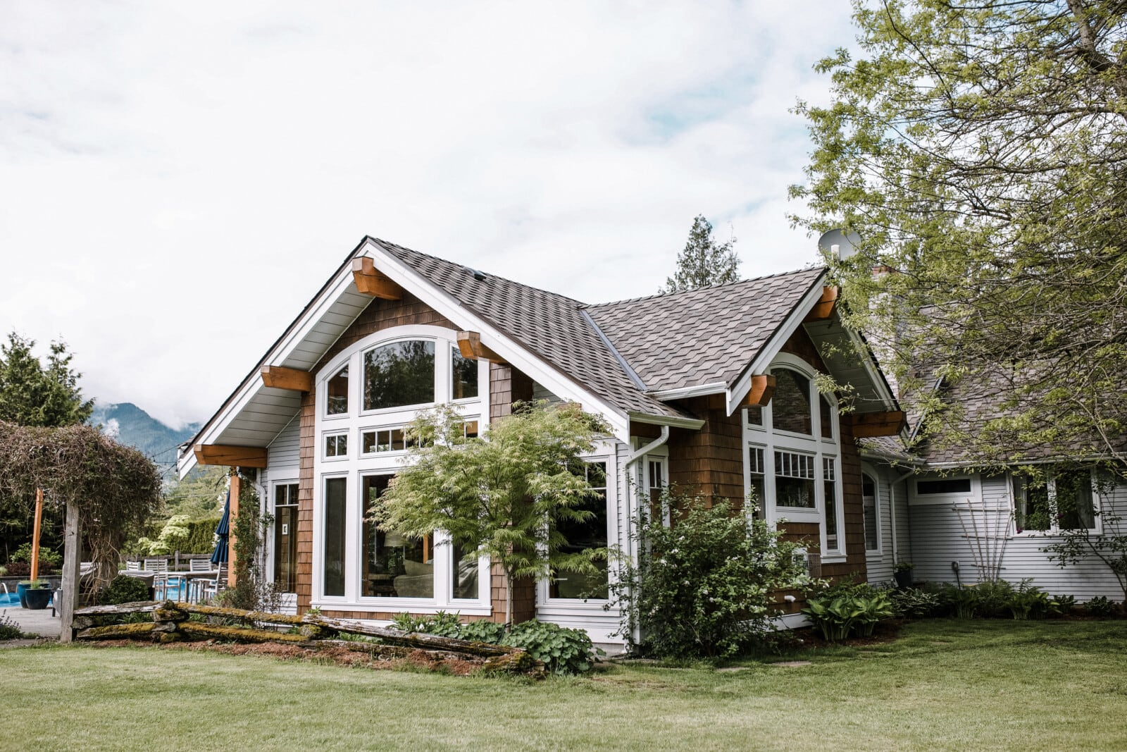 custom home in Ryder Lake