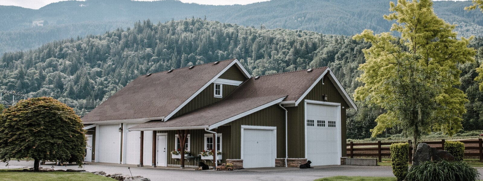 Custom Built Barn in Chilliwack